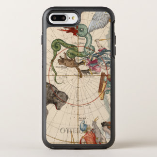 Vintage Map of the North Pole OtterBox Symmetry iPhone 8 Plus/7 Plus Case
