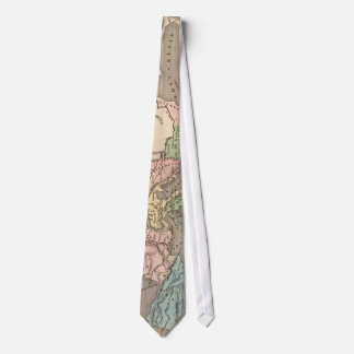 Vintage Map of The Roman Empire (1838) Tie
