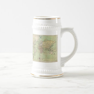 Vintage Map of The World 1778 Mugs