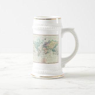 Vintage Map of The World (1801) Coffee Mug