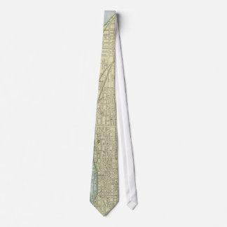 Vintage Map of Toronto (1901) Tie