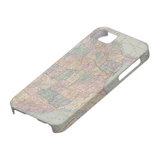 Vintage Map of United States Case For The iPhone 5