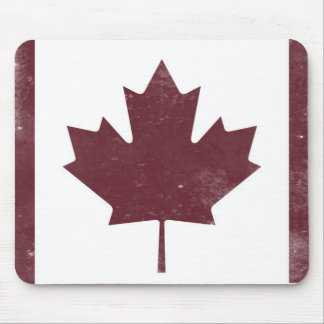 Vintage Maple Leaf Mouse Pad