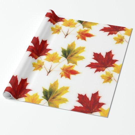 vintage maple leaves