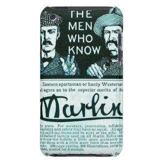 Vintage Marlin Firearm Teal Gun Ad iPod Touch Case