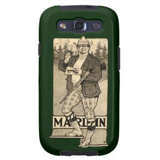 Vintage Marlin Firearms Ad Samsung Galaxy S3 Skin Galaxy SIII Covers