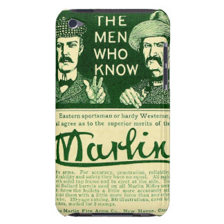 Vintage Marlin Firearms Green Ad iPod Touch Case