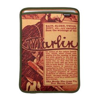 Vintage Marlin Firearms Orange Macbook Air Sleeve
