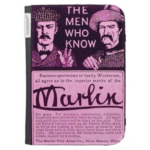 Vintage Marlin Firearms Purple Amazon Kindle Case