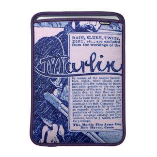 Vintage Marlin Firearms Purple Macbook Air Sleeve
