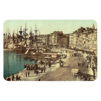 Vintage Marseilles, France - Magnet