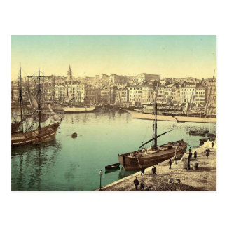 Vintage Marseilles, France - Postcard
