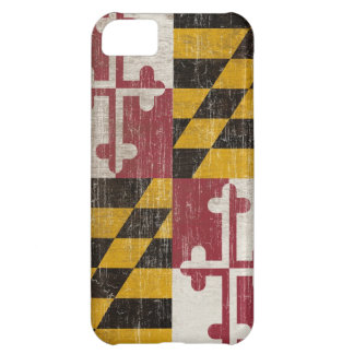 Vintage Maryland Flag Cover For iPhone 5C
