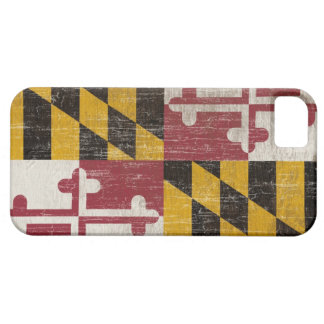 Vintage Maryland Flag iPhone 5 Case