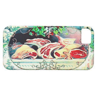 Vintage Meat Promo 1872 iPhone 5 Covers
