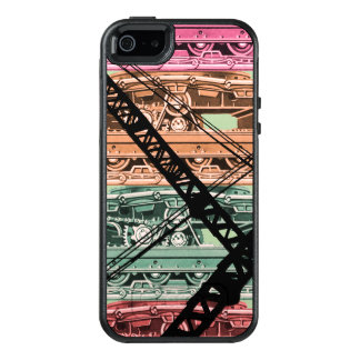 Vintage Mechanical Crane Tracks Crawler Crane Art OtterBox iPhone 5/5s/SE Case