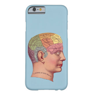 "Vintage medical image ""Phrenology Chart"" Barely There iPhone 6 Case"