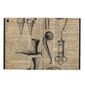 Vintage Medical Kits,Dictionary Art,Creepy,Decor iPad Air Case