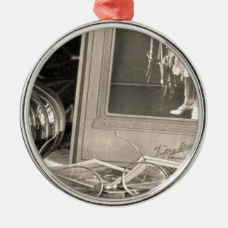 Vintage Memories Metal Ornament