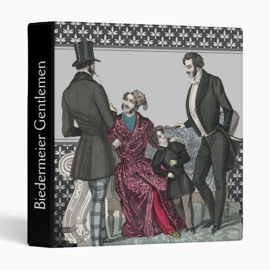 vintage mens formal wear fashion illustration binders