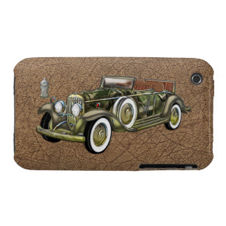 Vintage Mercer Super Raceabout on Faux Antelope Case-Mate iPhone 3 Cases
