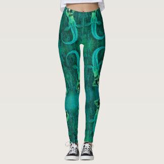 Vintage Mermaid Leggings