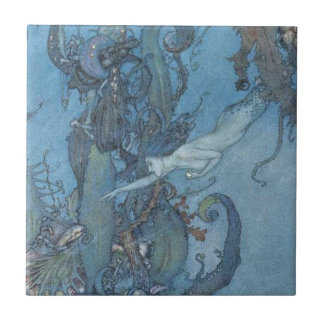 Vintage Mermaid Tile