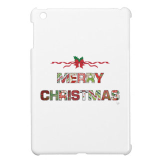 Vintage Merry-Christmas Holiday Case For The iPad Mini