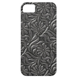 Vintage Metal Flower Wall iPhone 5 Cover
