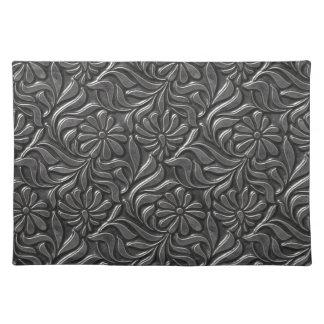 Vintage Metal Flower Wall Placemat