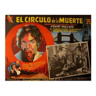 Vintage Mexican Lobby Card:  Edgar Wallace Krimi Postcard