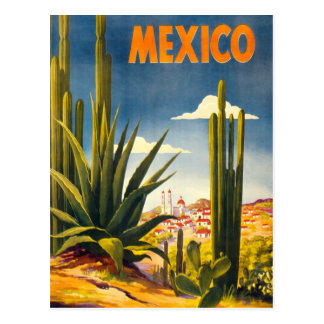 Vintage Mexico Travel Postcard