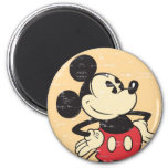 Vintage Mickey 2 Inch Round Magnet