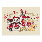 Vintage Mickey & Friends | Cozy Times Together Postcard