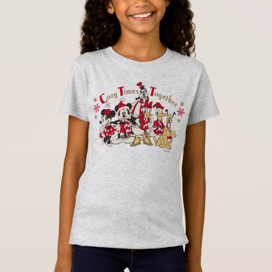 Vintage Mickey & Friends | Cozy Times Together T-Shirt