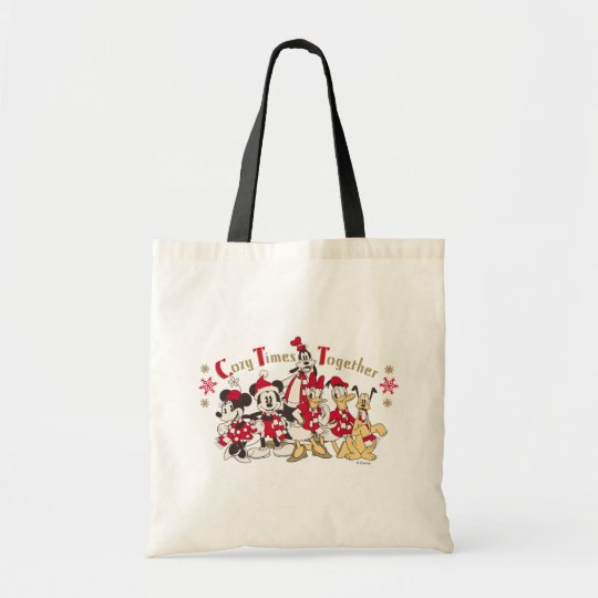 Vintage Mickey & Friends | Cozy Times Together Tote Bag