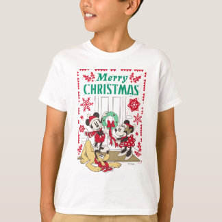 Vintage Mickey & Friends | Merry Christmas T-Shirt