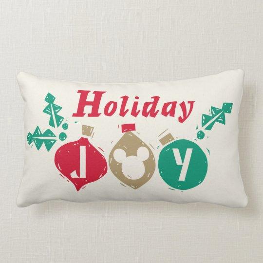 Vintage Mickey | Holiday Joy Lumbar Pillow