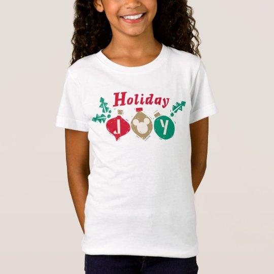 Vintage Mickey   Holiday Joy T-Shirt