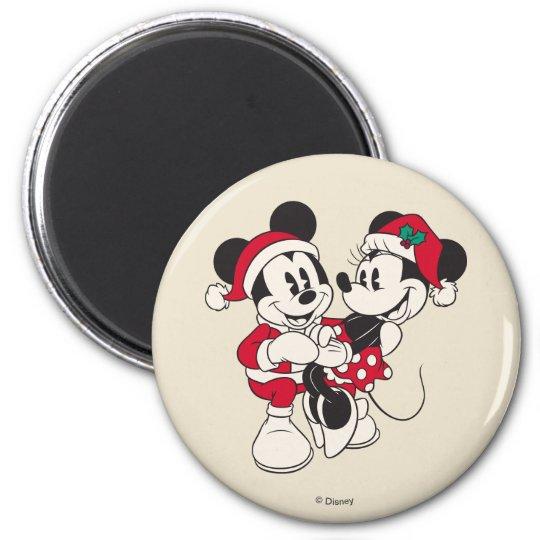 Vintage Mickey & Minnie | Warm & Cozy Magnet