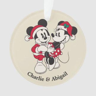 Vintage Mickey & Minnie | Warm & Cozy Ornament