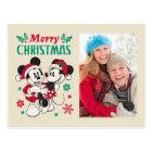 Vintage Mickey & Minnie | Warm & Cozy Postcard
