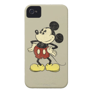Vintage Mickey Mouse 2 Case-Mate iPhone 4 Cases