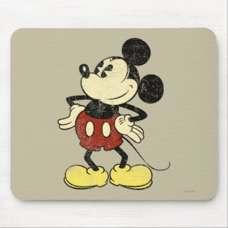 Vintage Mickey Mouse 2 Mouse Pad