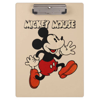 Vintage Mickey Mouse Clipboard