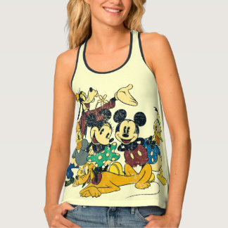 Vintage Mickey Mouse & Friends Tank Top