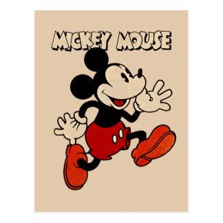 Vintage Mickey Mouse Postcard