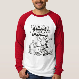 Vintage Mickey Silly Insturments T-Shirt