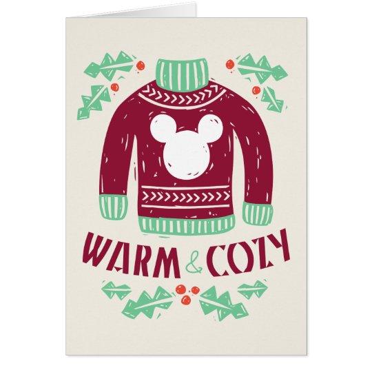 Vintage Mickey | Warm & Cozy Card