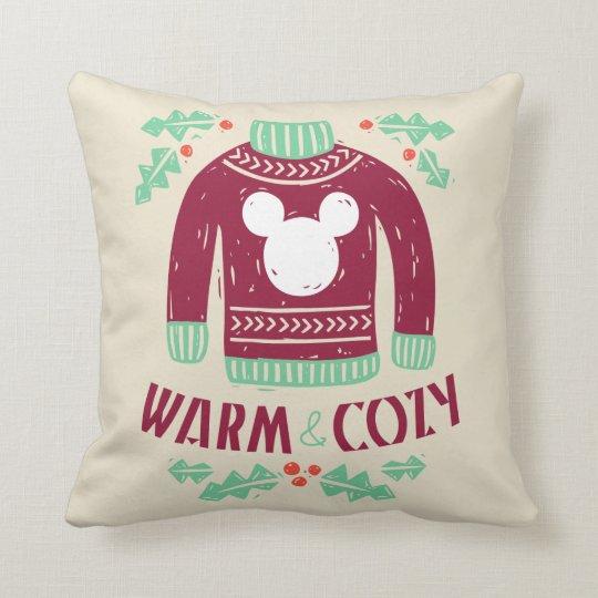 Vintage Mickey | Warm & Cozy Throw Pillow